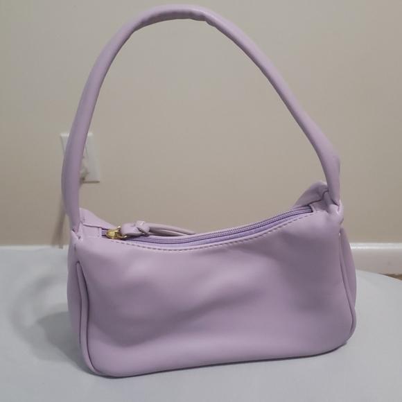 SHEIN Handbags - Solid zip up shoulder bag